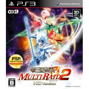 Shin Sangoku Musou Multi Raid 2 HD Version [PS3]