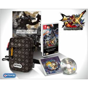 Monster Hunter XX / Double Cross - e-Capcom Limited Edition [Switch]