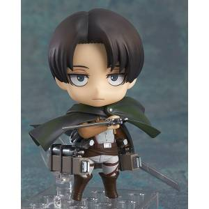 Attack on Titan / Shingeki no Kyojin - Levi Reissue [Nendoroid 390]