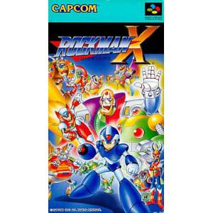 Rockman X / Mega Man X [SFC - Used Good Codition]
