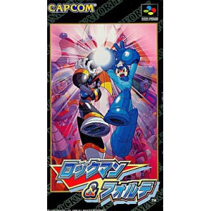 Rockman & Forte / Megaman & Bass [SFC - Used Good Condition]