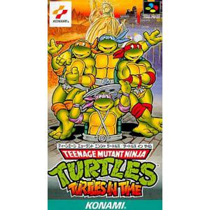 Teenage Mutant Ninja Turtles - Turtles In Time [SFC - Used Good Condition]