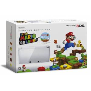 Nintendo 3DS - Super Mario 3D Land Pack - Ice White [brand new]