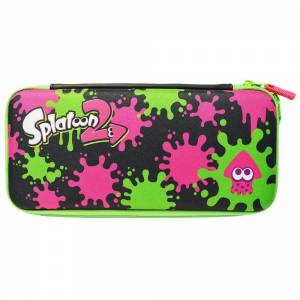 FREE SHIPPING - Splatoon 2 - Hard Pouch for Nintendo Switch Ink x Squid Ver. [Hori - Switch]