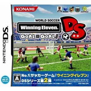 World Soccer Winning Eleven DS - Goal x Goal! / Pro Evolution Soccer 2008 [NDS - Used Good Condition]