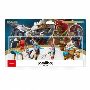Amiibo Urbosa / Mipha / Daruk / Revali - Legend of Zelda Breath of the Wild Nintendo Store Limited Set [Switch / Wii U]