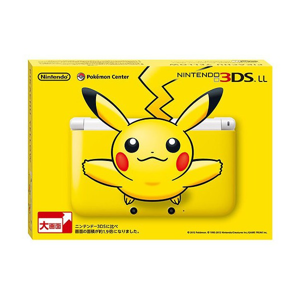 buy nintendo 3ds ll xl pikachu yellow limited edition. Black Bedroom Furniture Sets. Home Design Ideas