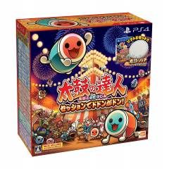Taiko no Tatsujin Session de Dodon ga Don! Drum & Drum Stick Pack (Full English Support) [PS4]