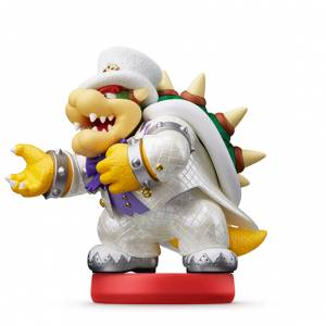 FREE SHIPPING - Amiibo Koopa / Bowser Wedding Style - Super Mario series [Switch]