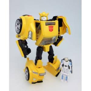 Transformers Legends LG54 Bumblebee & Excel Suit Spike [Takara Tomy]