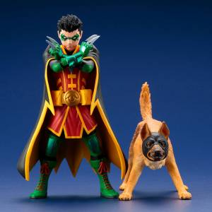 DC COMICS REBIRTH Super Sons: Robin & Bat-Hound [ARTFX+]