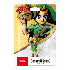 IN STOCK - Amiibo Link (Majora's mask ver.) - The Legend of Zelda series [3DS]