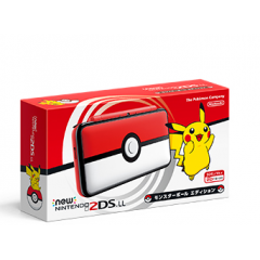 New Nintendo 2DS XL Monster Ball / Pokeball Edition [Brand New]