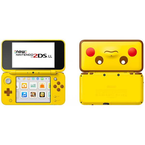 new nintendo 2ds xl pikachu limited edition brand new. Black Bedroom Furniture Sets. Home Design Ideas