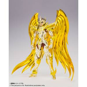 Saint Seiya Myth Cloth EX - Sagittarius Aiolos (God Cloth / Soul of Gold) [Brand New / Box slightly Damaged]