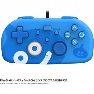 Hori Wired Controller Light for PlayStation 4 - Blue / Dragon Quest Slime Limited Edition [PS4]
