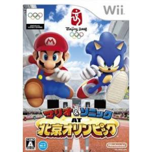 Mario & Sonic at Beijing Olympic / Mario & Sonic aux Jeux Olympiques [Wii / Occasion BE]