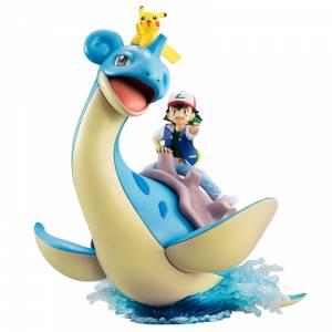Pokemon - Ash & Pikachu & Lapras [G.E.M.]