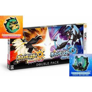 Pokemon Center Limited Edition - Pokemon Ultra Sun & Ultra Moon - Double Pack (Multi Language) [3DS]