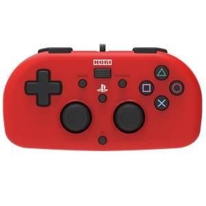 Hori Wired Controller Light for PlayStation 4 - Red Ver. [PS4]
