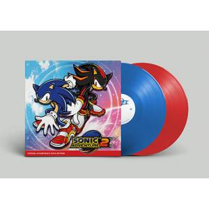 SONIC ADVENTURE 2 OFFICIAL SOUNDTRACK VINYL EDITION [OST]