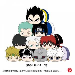 Weekly Shonen Jump 50th Anniversary Jump All Stars - PoteKoro Mascot Part.2 10 Pack BOX [Plush Toys]