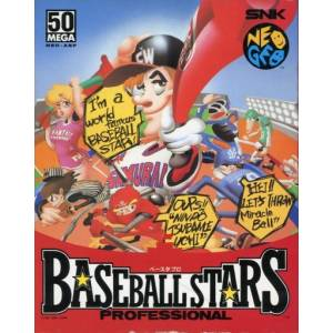 Baseball Stars Professional (carton box) [NG AES - Used Good Condition]