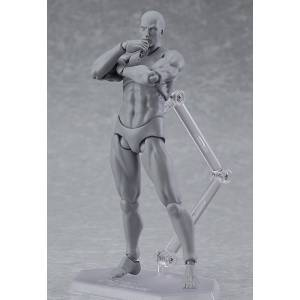 figma archetype next: he - gray color ver. reissue [Figma 03♂]