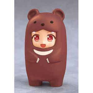 Kigurumi Face Parts Case (Brown Bear) [Nendoroid More]