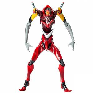 "EVANGELION EVOLUTION EVA-02 Beast Mode 2nd Form ""The Beast"" [Legacy of Revoltech]"