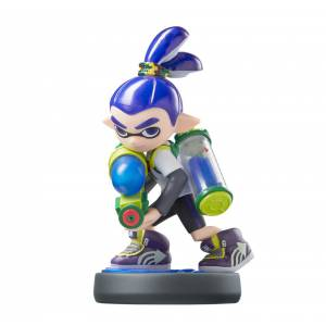 FREE SHIPPING - Amiibo Boy - Splatoon series Ver. [Wii U]