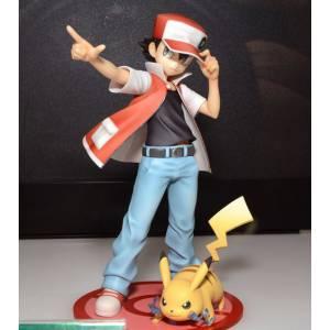 Pokemon Figure Series - Red with Pikachu Reissue [ARTFX J]