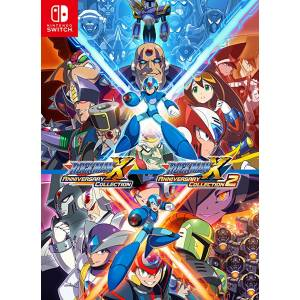 Mega man X / Rockman X Anniversary Collection 1+2 - Standard Edition (Multi Language) [Switch]