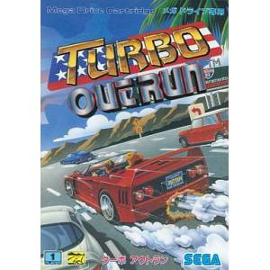 Turbo OutRun [MD - Used / Rank B]