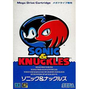 Sonic & Knuckles [MD - Used / DAMAGED BOX]