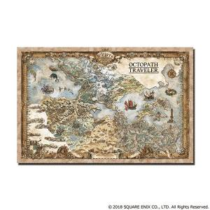 Octopath Traveler - Continent Map Cleaner Cloth [Goods]