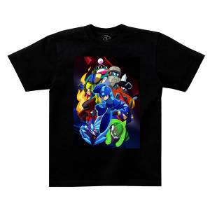 Rockman 11 / Mega Man 11 - T-shirt: XL [Goods]