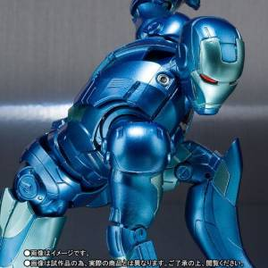 Iron Man MK-3 Blue Stealth Color Limited Edition [SH Figuarts]