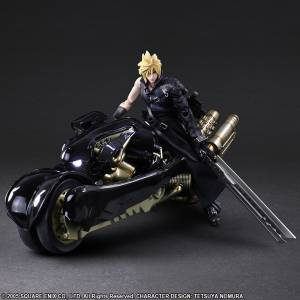 Final Fantasy VII: Advent Children - Cloud Strife & Fenrir ver. 2 [Play Arts Kai]
