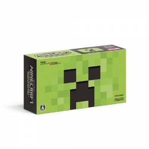 New Nintendo 2DS LL (XL) MINECRAFT CREEPER EDITION [Brand New]