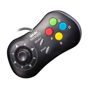 Neo Geo Mini PAD Black Ver. [SNK - Brand new]
