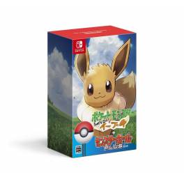 Pokemon: Let's Go, Eevee! - Monster Ball Plus Set (Multi Language) [Switch]