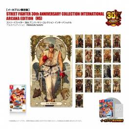 Street Fighter 30th Anniversary Collection International ARCANA EDITION - e-Capcom Limited Edition [Switch]