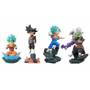 DRAGON BALL SUPER - WORLD COLLECTABLE DIORAMA VOL.1 (SET OF 4)