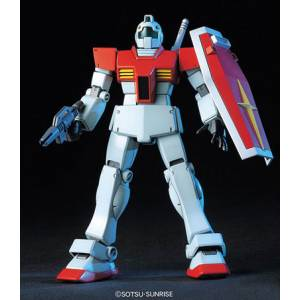 Mobile Suit Gundam - RGM-79 GM Plastic Model [1/144 HGUC / Bandai]
