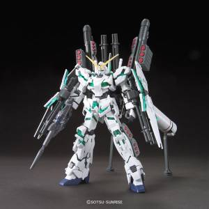 Mobile Suit Gundam - RX-0 Full Armor Unicorn Gundam (Destroy Mode) Plastic Model [1/144 HGUC / Bandai]