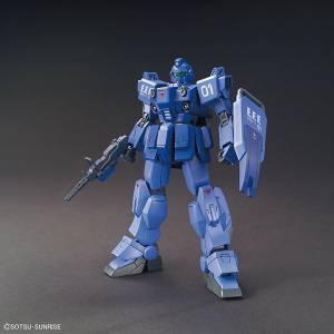 """Mobile Suit Gundam Gaiden Senritsu no Blue - Blue Destiny Unit 1 ""EXAM"" Plastic Model [1/144 HGUC / Bandai]"