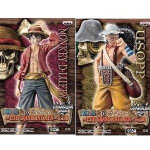 ONE PIECE - THE GRANDLINE MEN VOL.10 MONKEY D. LUFFY & USOPP