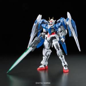 Mobile Suit Gundam 00 - GN-0000+GNR-010 00 Raiser Plastic Model [1/144 RG / Bandai]
