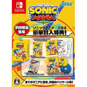 Sonic Mania Plus - First Press DX Pack Limited Edition [Switch]
